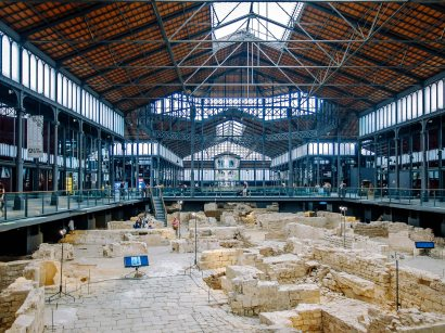Barcelona ruins